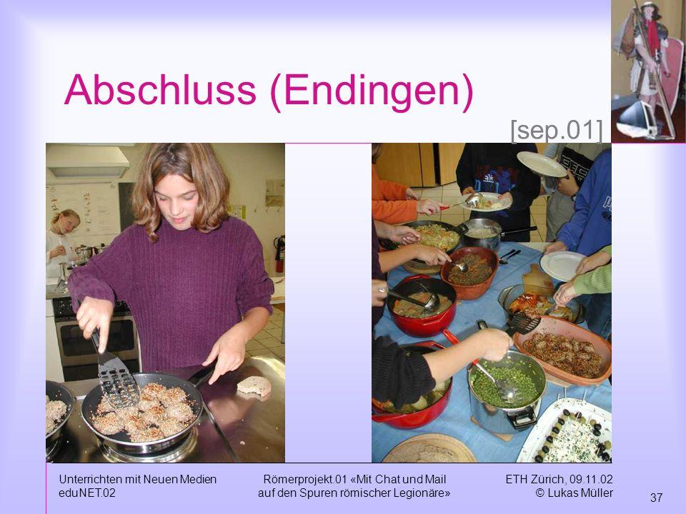 Abschluss (Endingen) [sep.01] Unterrichten mit Neuen Medien eduNET.02